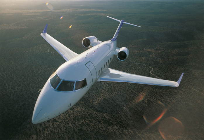 Bombardier received 107 net orders for business jets last year.