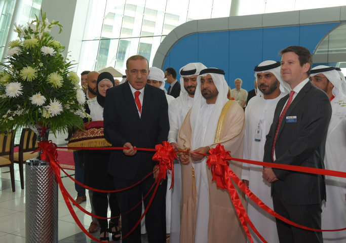 Breakbulk Middle East officially opened Tuesday with Dr. Abdullah Al Katheeri, Director General of the Federal Transport Authority.