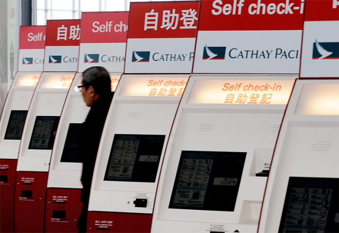 Cathay is on its way to Abu Dhabi (Mike Clarke/AFP/Getty Images).