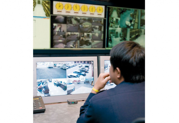 Transguard?s control centre room aims to integrate all forms of security measures in one centralised system.