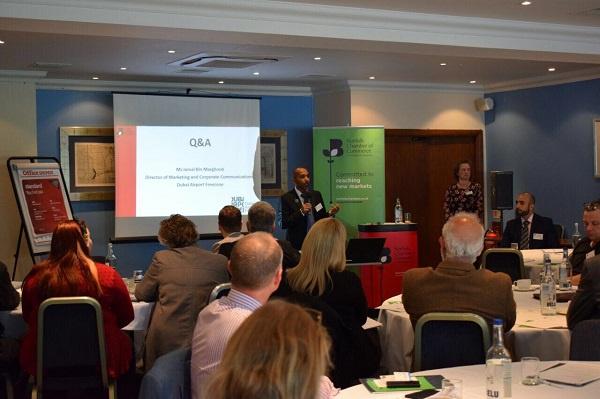 DAFZA seminar for potential investors in the United Kingdom