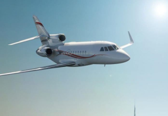 Dassault is doing OK in the Middle East.