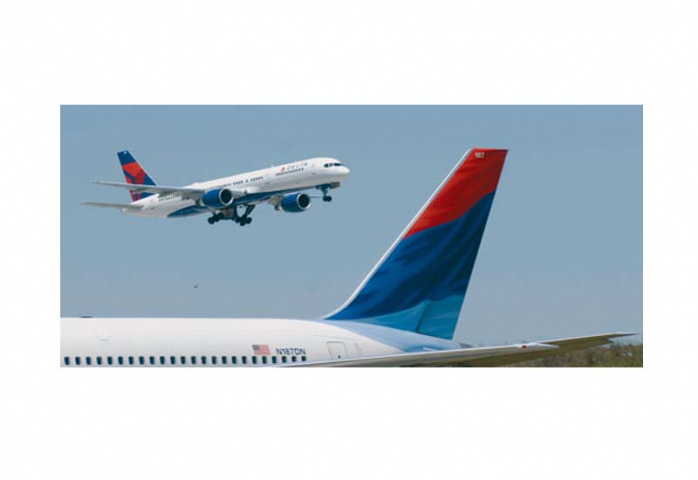 BAND OF THE BROTHERS: Delta Air Lines is a founding member of carrier coalition SkyTeam.