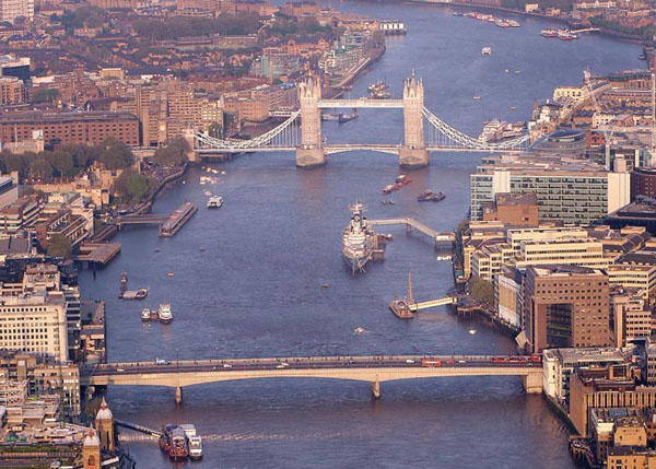 RIVER THAMES: Construction work on DP World?s deep sea port and logistics park starts later this year.