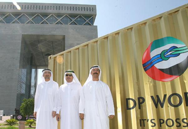 Sultan Ahmed Bin Sulayem, chairman of Dubai World and DP World, Jamal Majid Bin Thania, DP World executive vice chairman and Group CEO of Ports and Fr