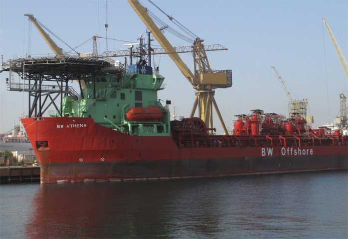 BW Athena was converted into an FPSO in 1999.
