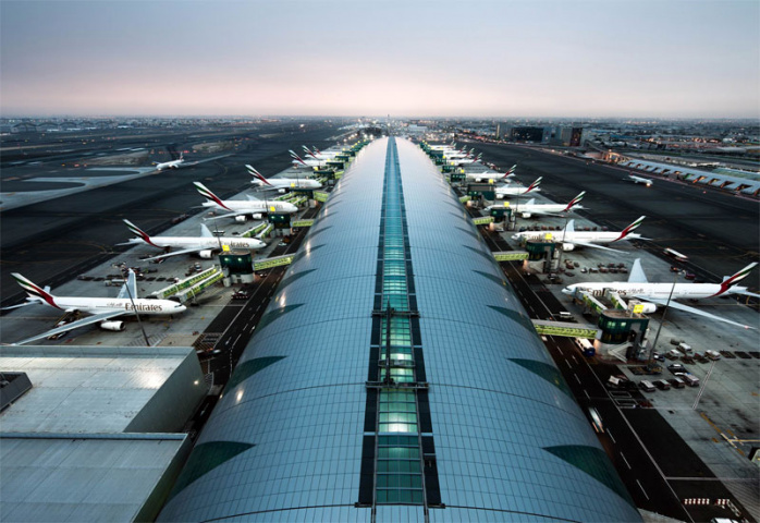 Dubai's passenger traffic jumped in April.