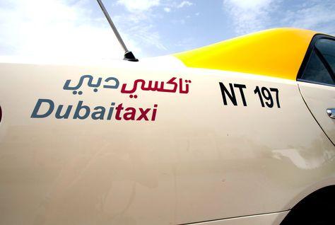 Taxi, Dubai, Cameras, Roads