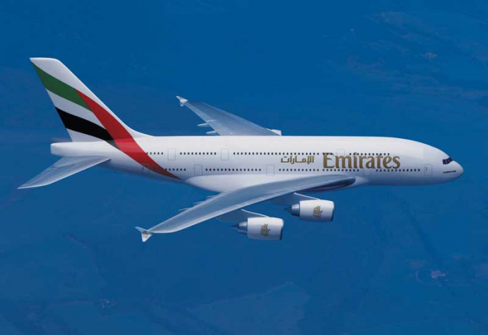 The Emirates A380 is coming to South Africa.