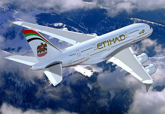 The return flight from Sydney to Abu Dhabi was cancelled while another plane was sent from the UAE.