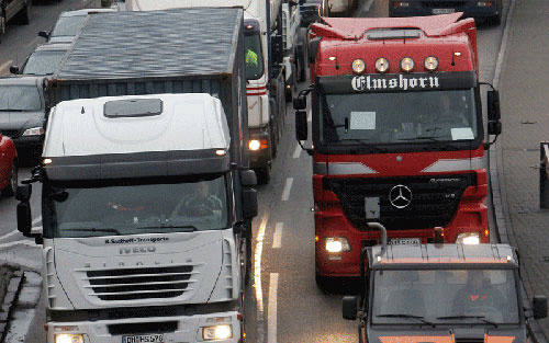TRAFFIC POLLUTION: Europe is struggling to meet its environmental targets.
