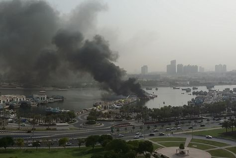 Dubai, Fire, NEWS, Ports & Free Zones