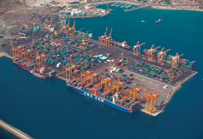 Gulftainer operates Khorfakkan Container Terminal