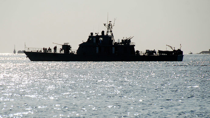 Iranian warships accompanying cargo ship into US and Saudi controlled waters off Yemen