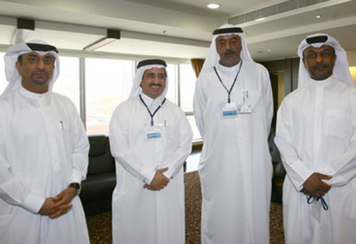 Ibrahim Mohammed Al Janahi, chief commercial officer, Jafza, at the recent meeting held for Jafza's business partners