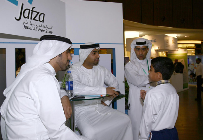 EZW representatives at an event organised by the Ministry of Environment and Water at the Dubai Mall