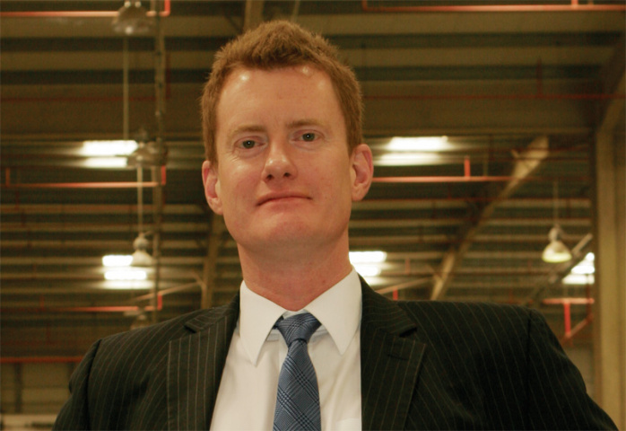 John Gould, CEVA Logistics.