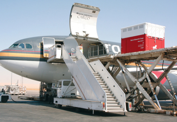 READY FOR TAKE-OFF: Aqaba Development Corporation?s plans include opportunities for freight forwarders.
