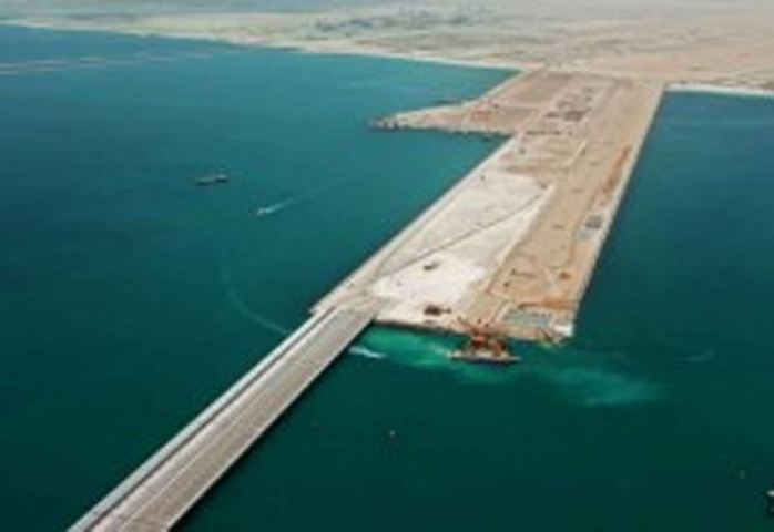 Khalifa Port will have capacity of two million TEUs in phase 1.