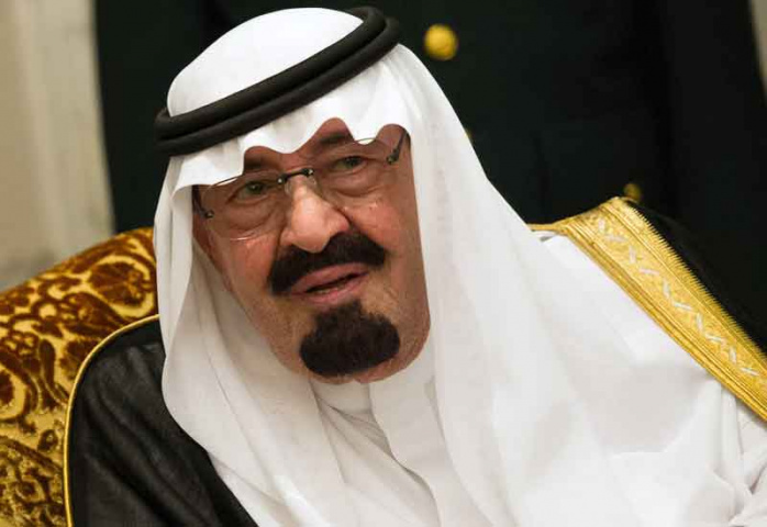 King Abdullah. Photo credit: BERTRAND LANGLOIS/AFP/Getty Images