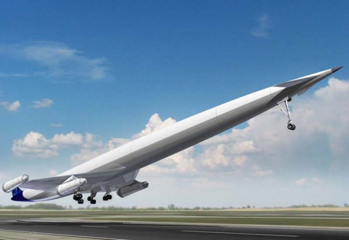 RECORD SPEED: The A2 will be capable of flying from the Middle East to the US in under four hours. (Reaction Engines)
