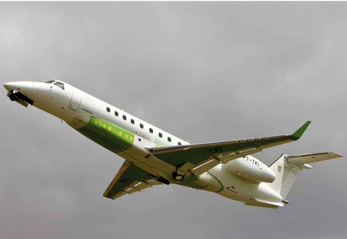 The Legacy 650 can take more executives further.