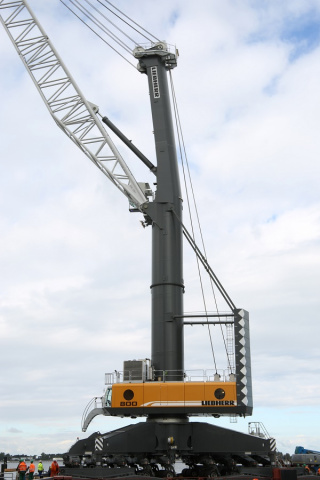 DP World has invested in three new mobile harbour cranes for the port (image illustrative only).