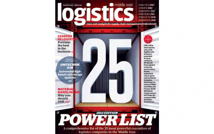 Meet the most powerful logistics executives in the Middle East.