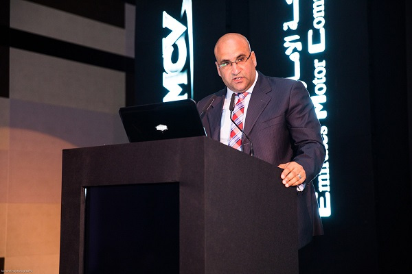 Bilal El Ribi, the General Manager of Commercial Vehicles at Emirates Motor Company