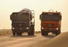 OBCC purchased a fleet of 20 Mercedes-Benz Actros trucks.