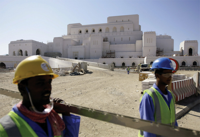 Oman is improving its road network (Joseph Eid/AFP/Getty Images).