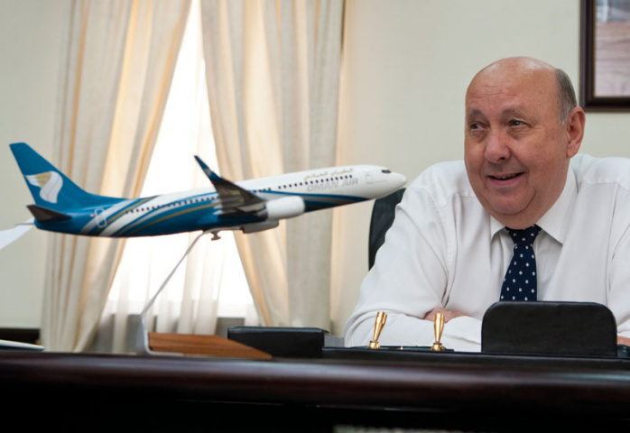 Oman Air CEO Peter Hill