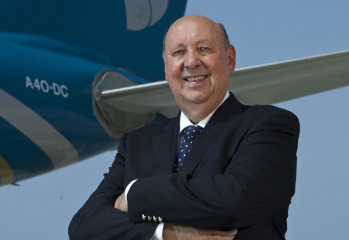 Peter Hill, Oman Air CEO