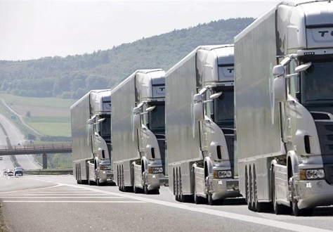 Platooning, or convoying of commercial vehicles, primarily trucks, is to be tested in the UAE.