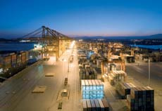 Ambitious port developments have allowed shippers to handle a boom in cargo volumes