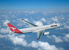 Paying the price: Qantas Airways is fined in the US.