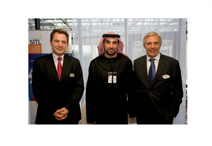 PARTNERSHIP: Officials from DWTC and Reed Exhibitions.