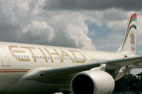 STORMS BREWING: Etihad and Emirates show no signs of slowing growth despite the prediction from the IATA CEO that 2009 is set to be an even tougher ye