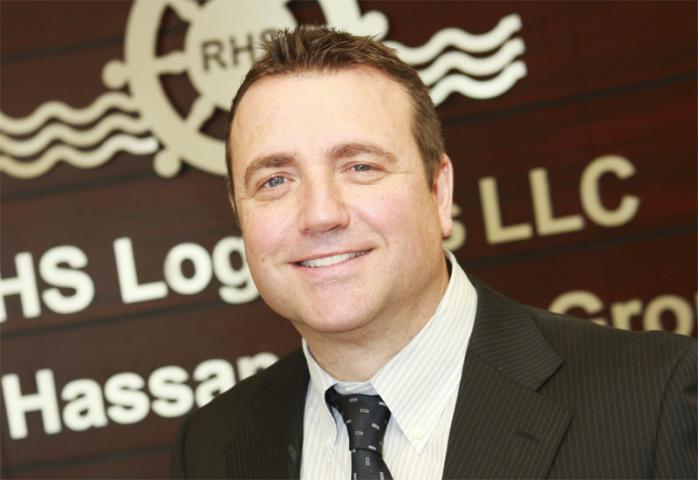 Richard Bell, RHS Logistics.