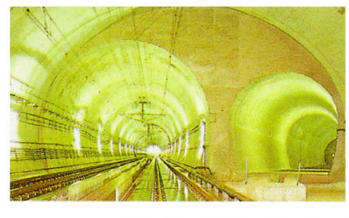 Currently, Japan?s 54-km Seikan tunnel is the world's longest undersea tunnel.