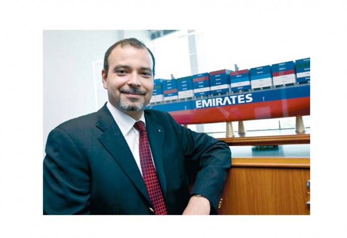 MOHAMED EL ALFY: Emirates Shipping Line is growing at a faster pace than the market, and launched eight new services in the past 12 months connecting