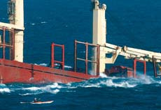 Navigational accidents are continuing to rise