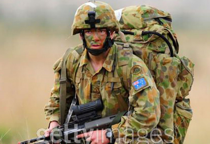 A soldier from 3 RAR (Royal Australian Regiment). (Getty Images - for illustrative purposes only)