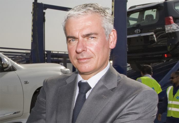 Tom Nauwelaerts, Al-Futtaim Logistics.