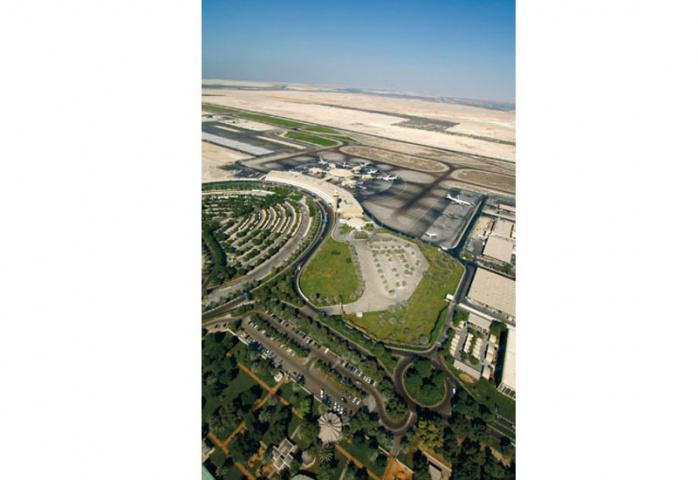Abu Dhabi International Airport.