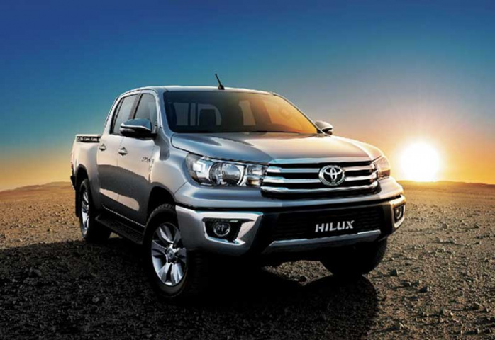 The 2016 Hilux: Designed with the driver in mind.
