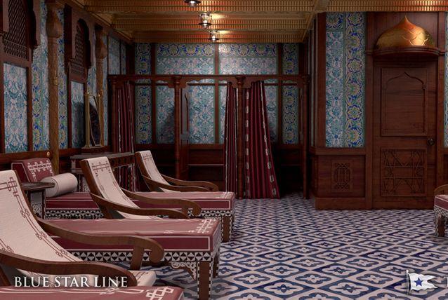 Titanic II Turkish baths