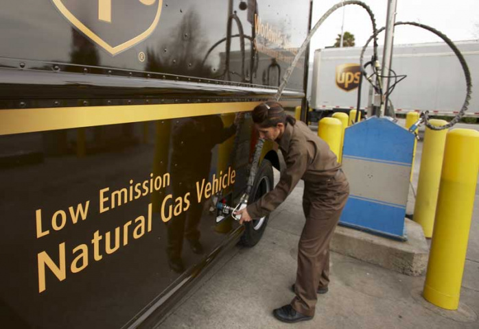 UPS plans that one in four new vehicles purchased annually will be an alternative fuel and advanced technology vehicle by 2020.