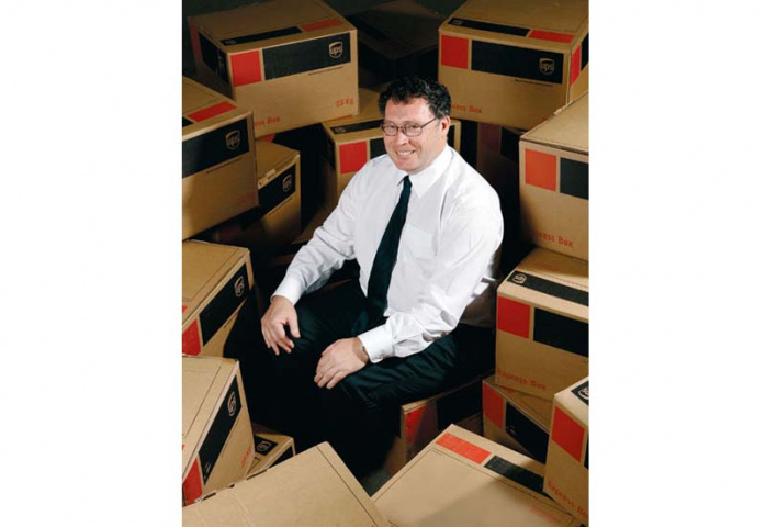 PERFECT DELIVERY: John Tansey, country manager of UPS, oversees operations in the UAE, which include a hub in Dubai Cargo Village and Dubai Airport Fr