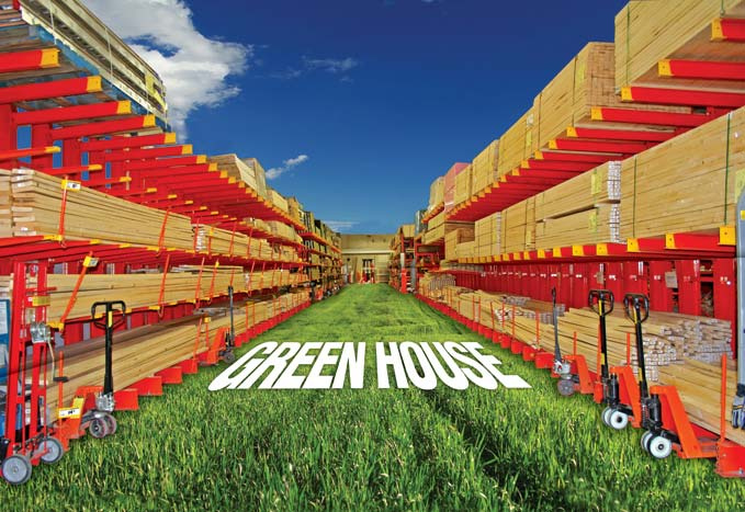 Green house?